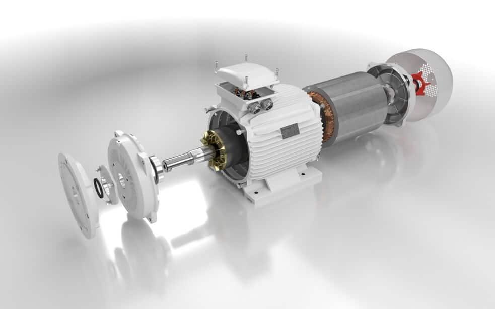 elektromotor rozobratý 11kw