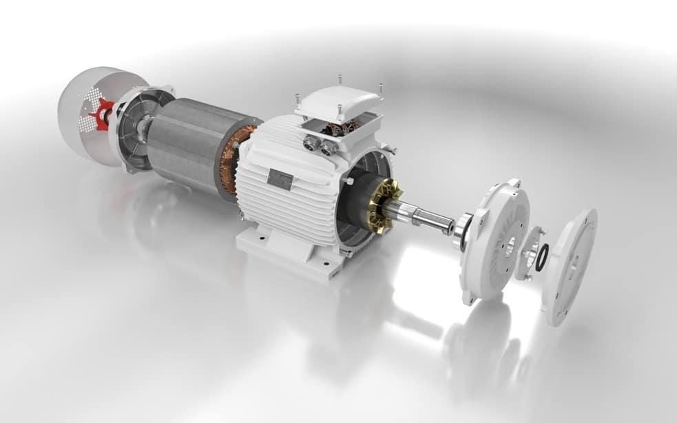 elektromotor rozobratý 5.5kw