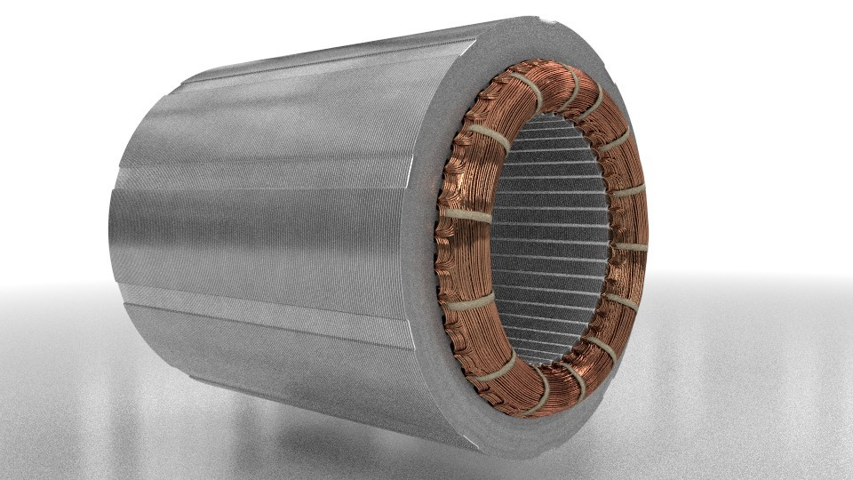 elektromotory statorové plechy 5.5kw