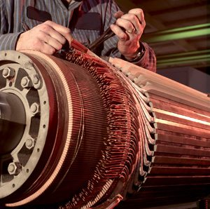 Opravy jednosmernych elektromotorov od 3kW do 2000 kW