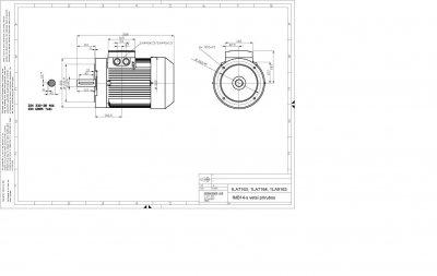 vykres prirubovy elektromotor Siemens perko