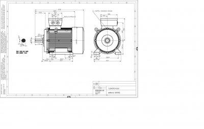 vykres 200 kw elektromotor Siemens IE2