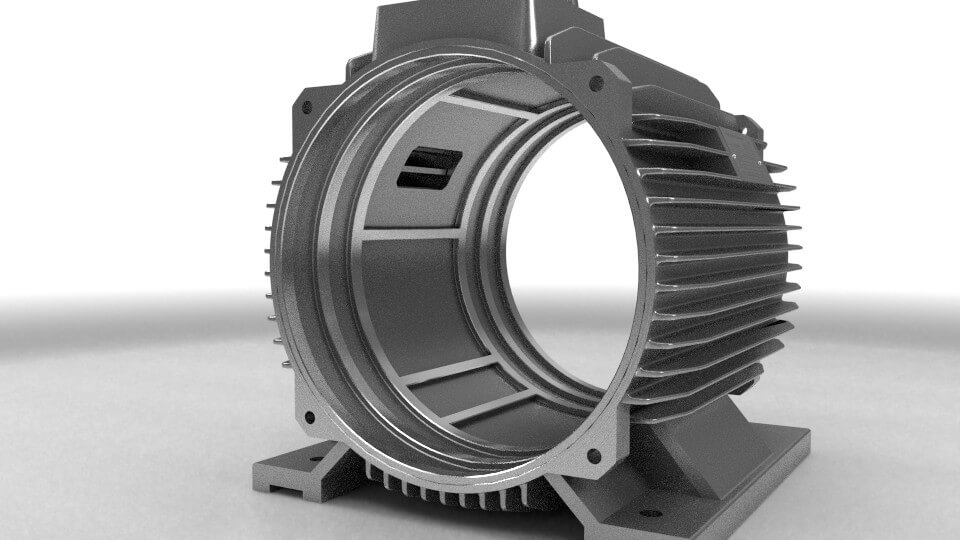 elektromotor stator 90kw