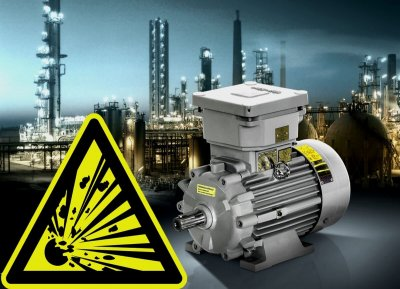motory do prostredia s nebezpečím výbuchu