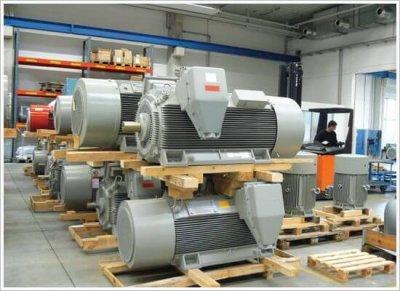 VN elektromotory Siemens