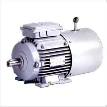 elektro motor s elektromagnetickou brzdou