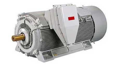 Vysokonapatovy elektromotor