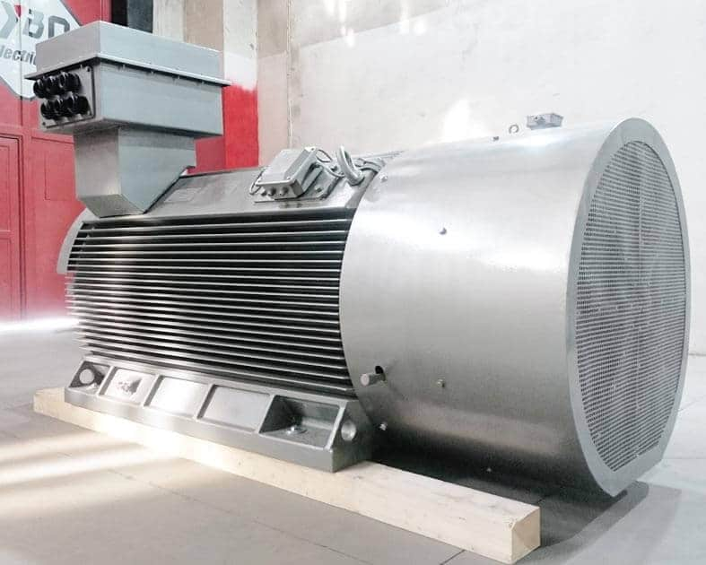 Electric motor 900kW