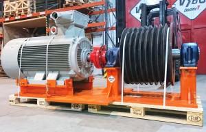 Elektromotor 250kW 8 pol