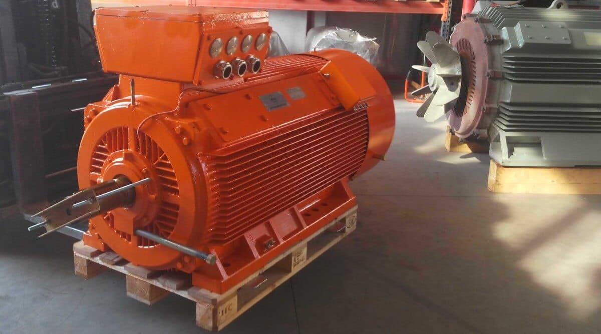 Elektromotor N-compact 500kW
