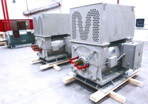 500kW electric motor