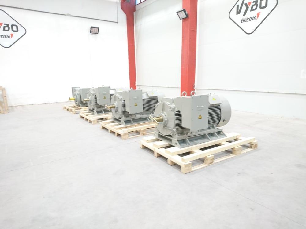 strednonapäťové motory 6000V