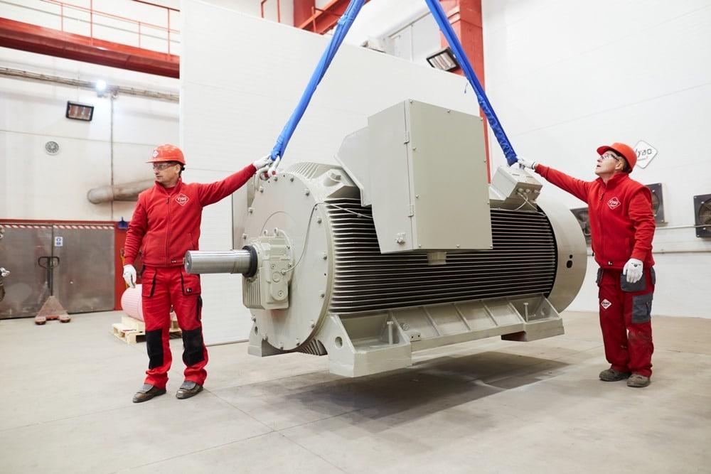 vysokonapäťový motor 6000V