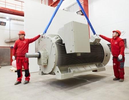vysokonapäťové motory 6000V
