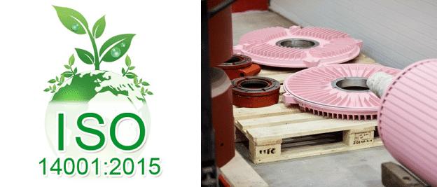 ISO14001 spoločnosť VYBO Electric
