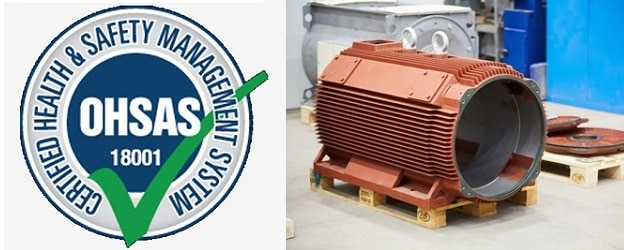 OHSAS18001 VYBO Electric