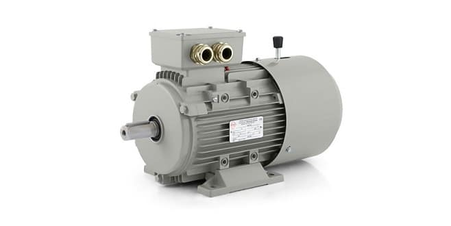 Elektro motory s brzdou